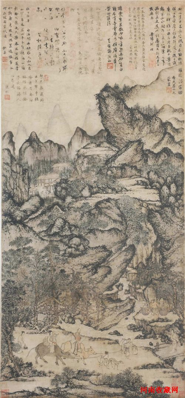 中国最贵拍卖品王蒙《稚川移居图》今日现身东莞