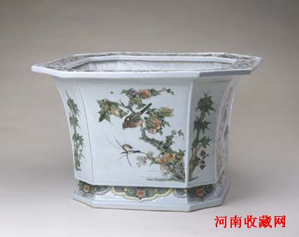古代陶瓷.画桶笔桶
