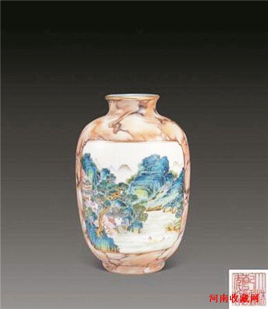 清代粉彩瓶    6 - h_x_y_123456 - 何晓昱的艺术博客
